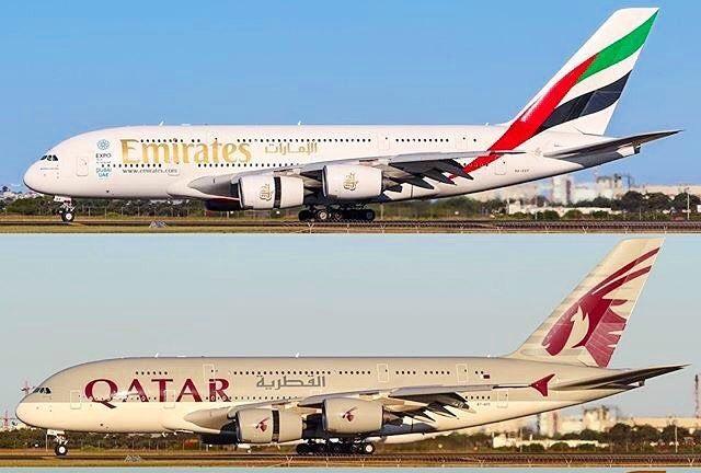 Катар или Эмирейтс