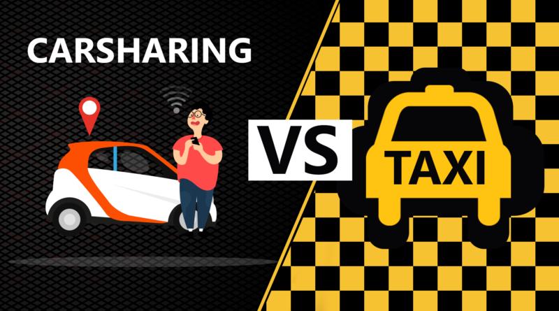 Каршеринг или такси
